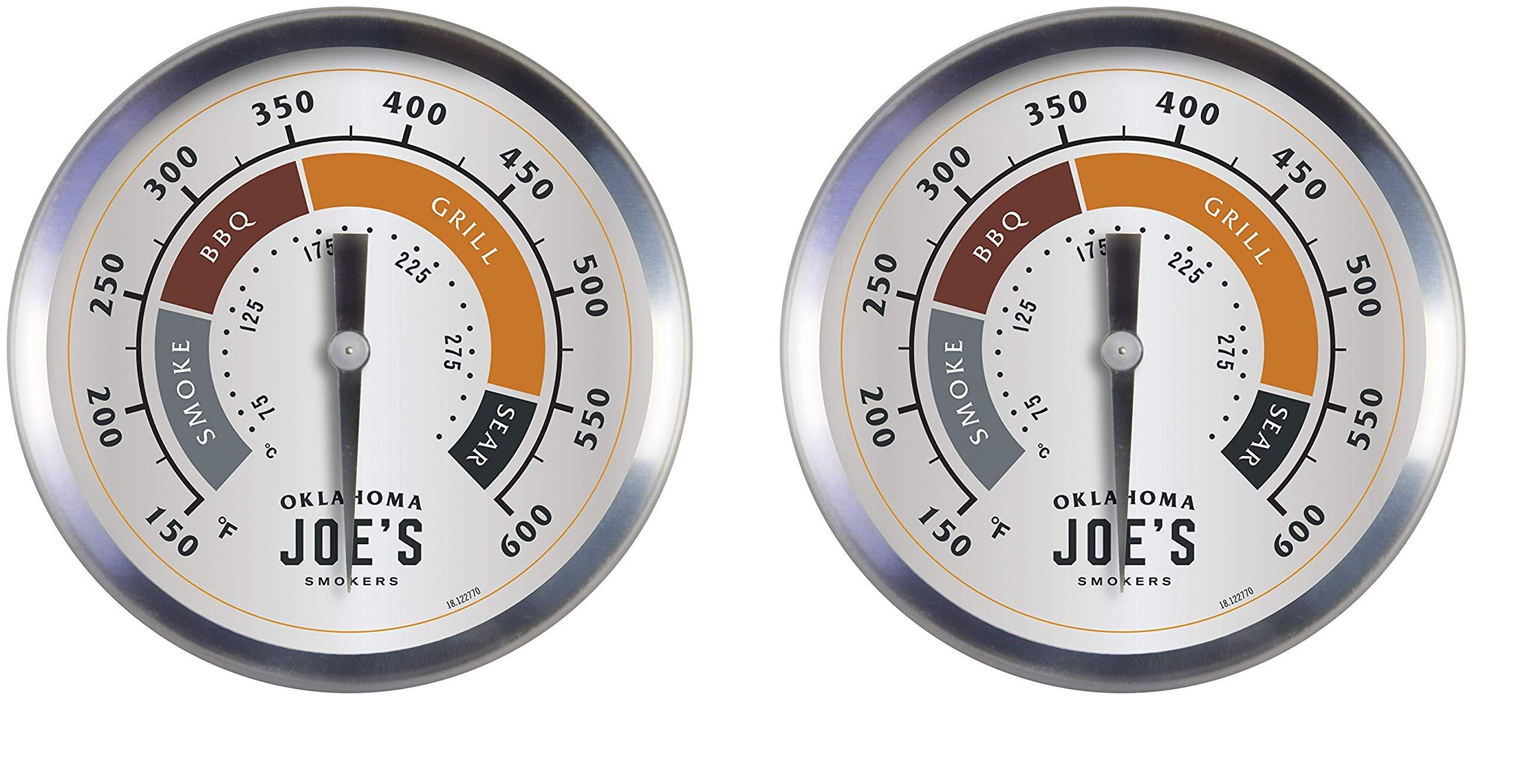 Oklahoma Joe's 3595528R06 Temperature Gauge (2-Pack)