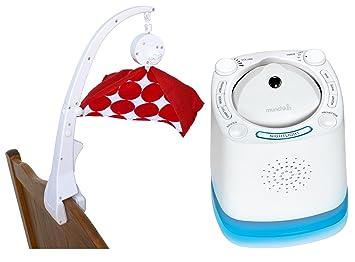 Amazon Com Crib Mobile Attachment Clamp With Nursery Sound Machine