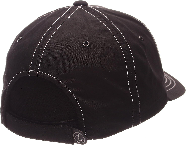 Zephyr Adult Men Sprint Performance Hat Adjustable Size Black