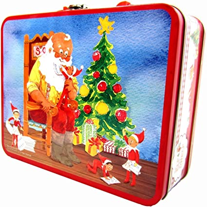 The Elf On The Shelf Lunch Box With 48 Piece Puzzle