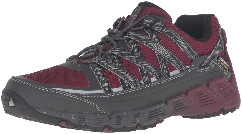 KEEN Women's Versatrail Waterproof Shoe B019HDN9YE 5.5 B(M) US|Zinfandel/Magnet