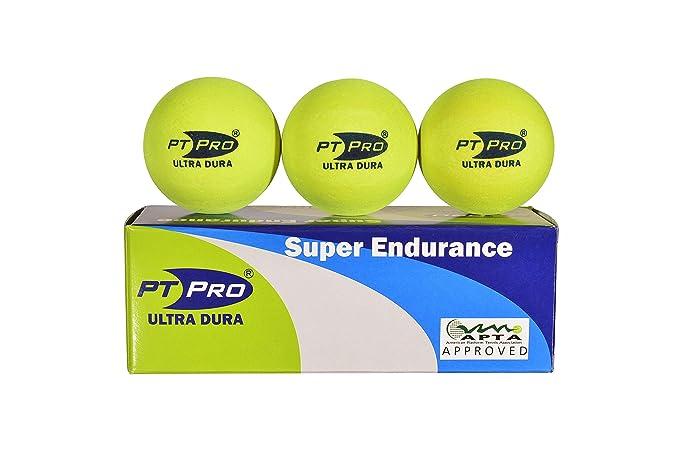 Amazon.com: PT/PRO Plataforma pelotas de tenis Ultra Dura ...