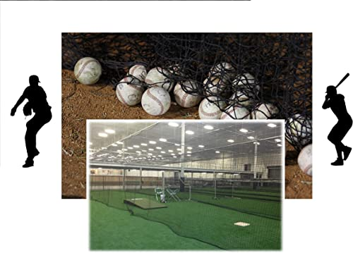 EXCURSIONS Baseball Batting Cage Net Netting 42 54 Ply Professional Commercial Quality
