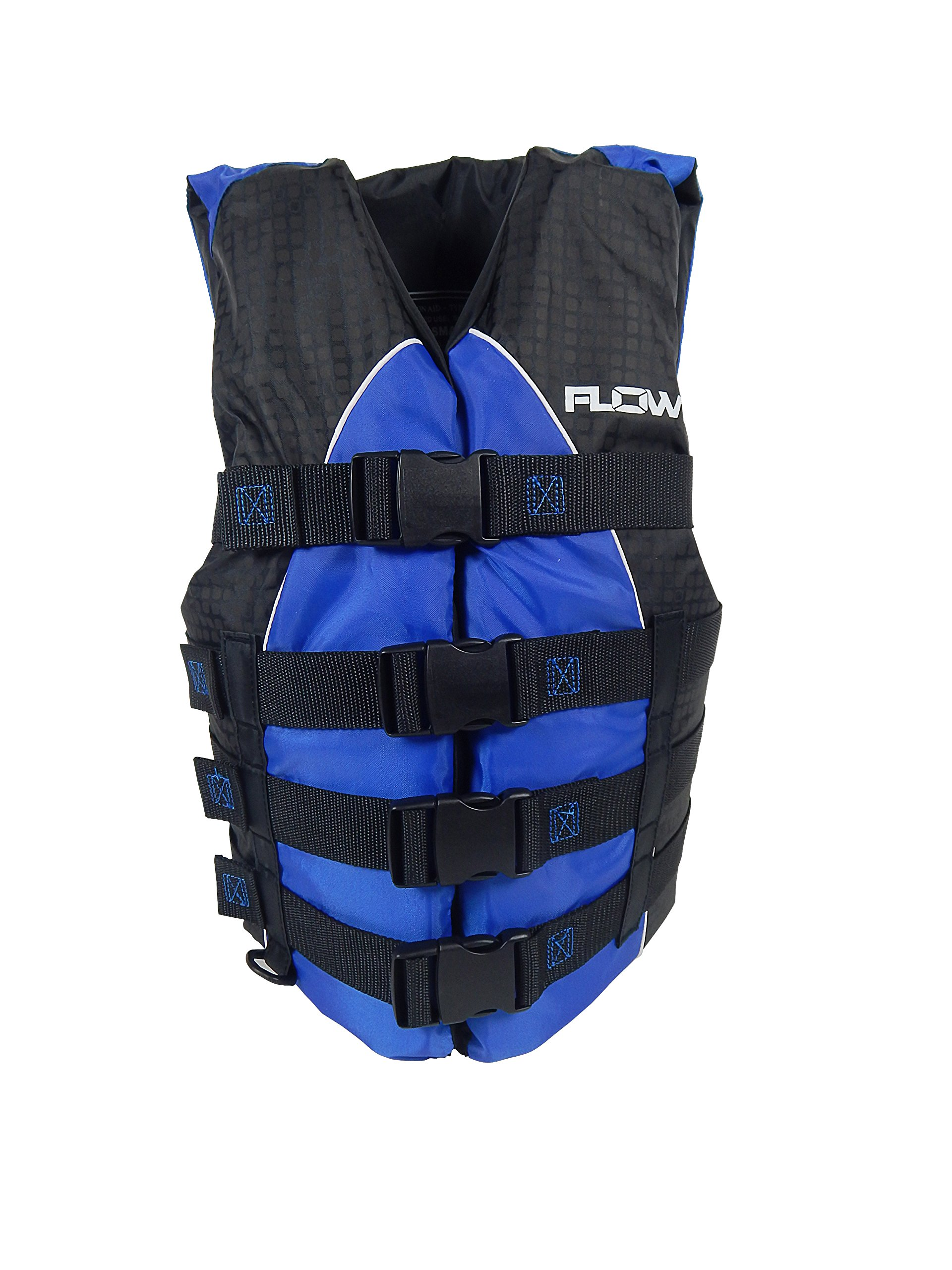 Flowt Extreme Sport 40401-2-XS Extreme Sport Life Vest, Type III PFD, Closed Sides, Blue, Extra Small, by Flowt