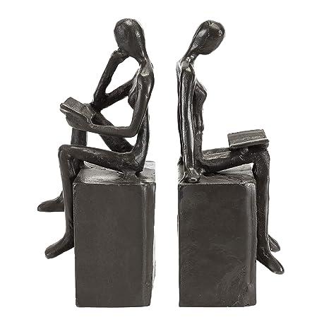 ZI11217 Danya B Ladies Stretching Metal Bookend Set