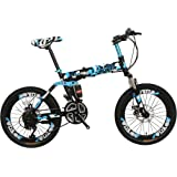 Vlra Army Edition Foldable Bike Carbon Steel 6Spokes Integrated Wheel