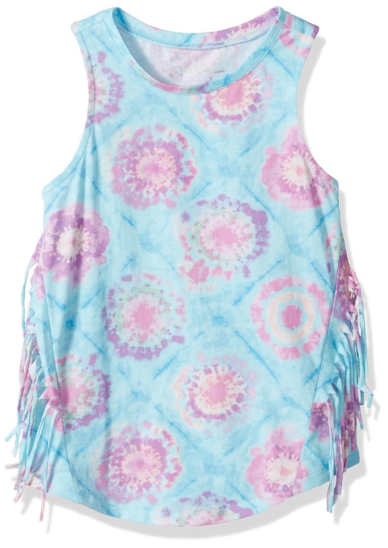Jessica Simpson Girls' Big Rini Tie Dye Fringe Tank 30001911