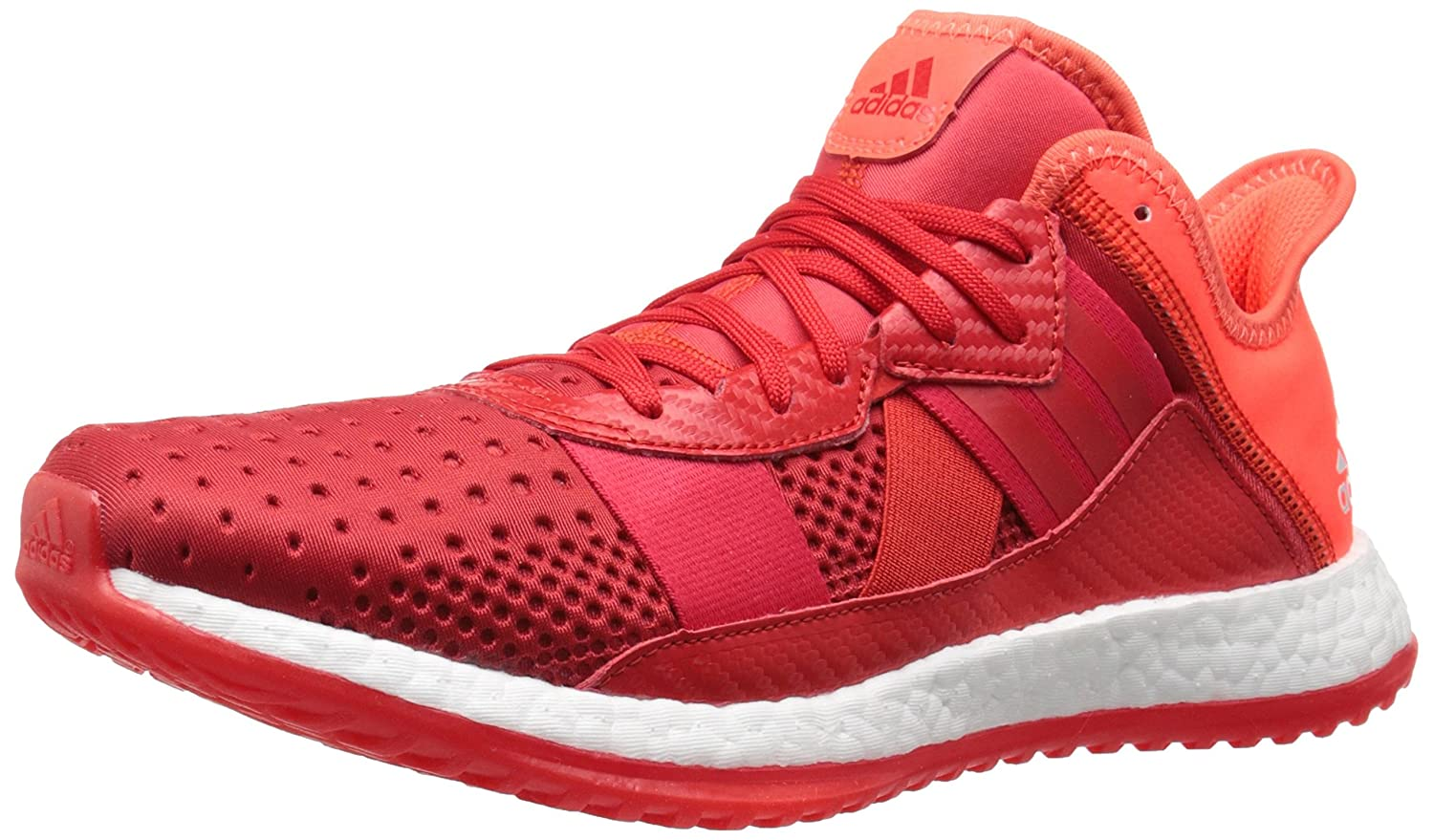 adidas Men's Pure Boost ZG Trainer Training Shoe B0111QYJGM 9.5 D(M) US|Vivid Red/White/Solar Red