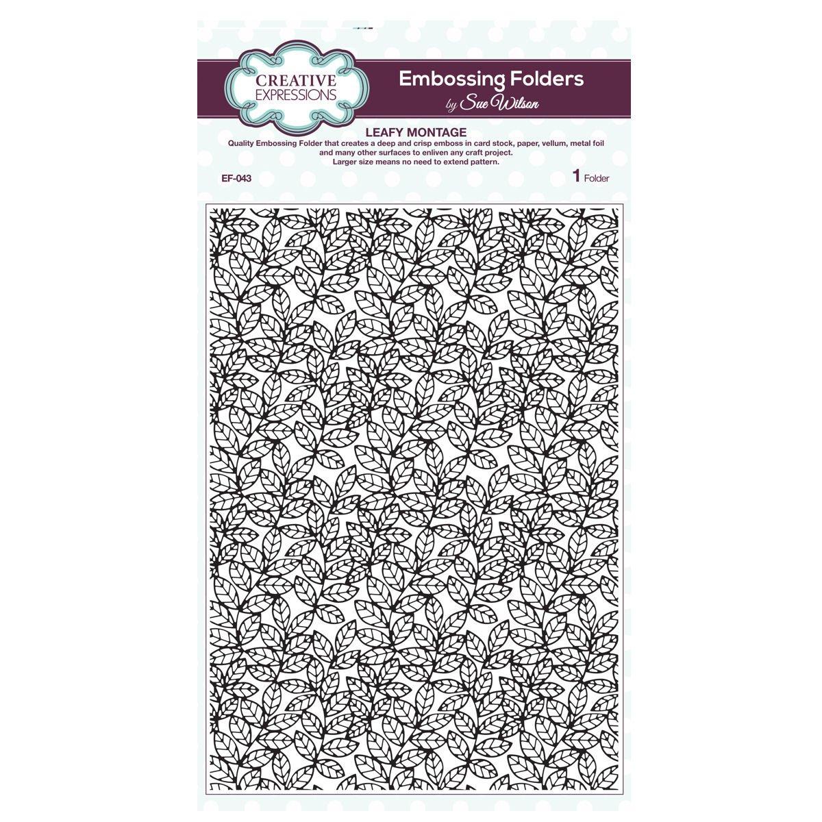 creative Expressions Embossimg cartella, formato A4 EF-043