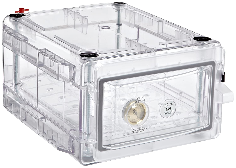 B002VBWA2C Bel-Art Secador Clear 1.0 Gas-Purge Desiccator Cabinet; 0.7 cu. ft. (F42071-0002) 81PYG3uJfNL