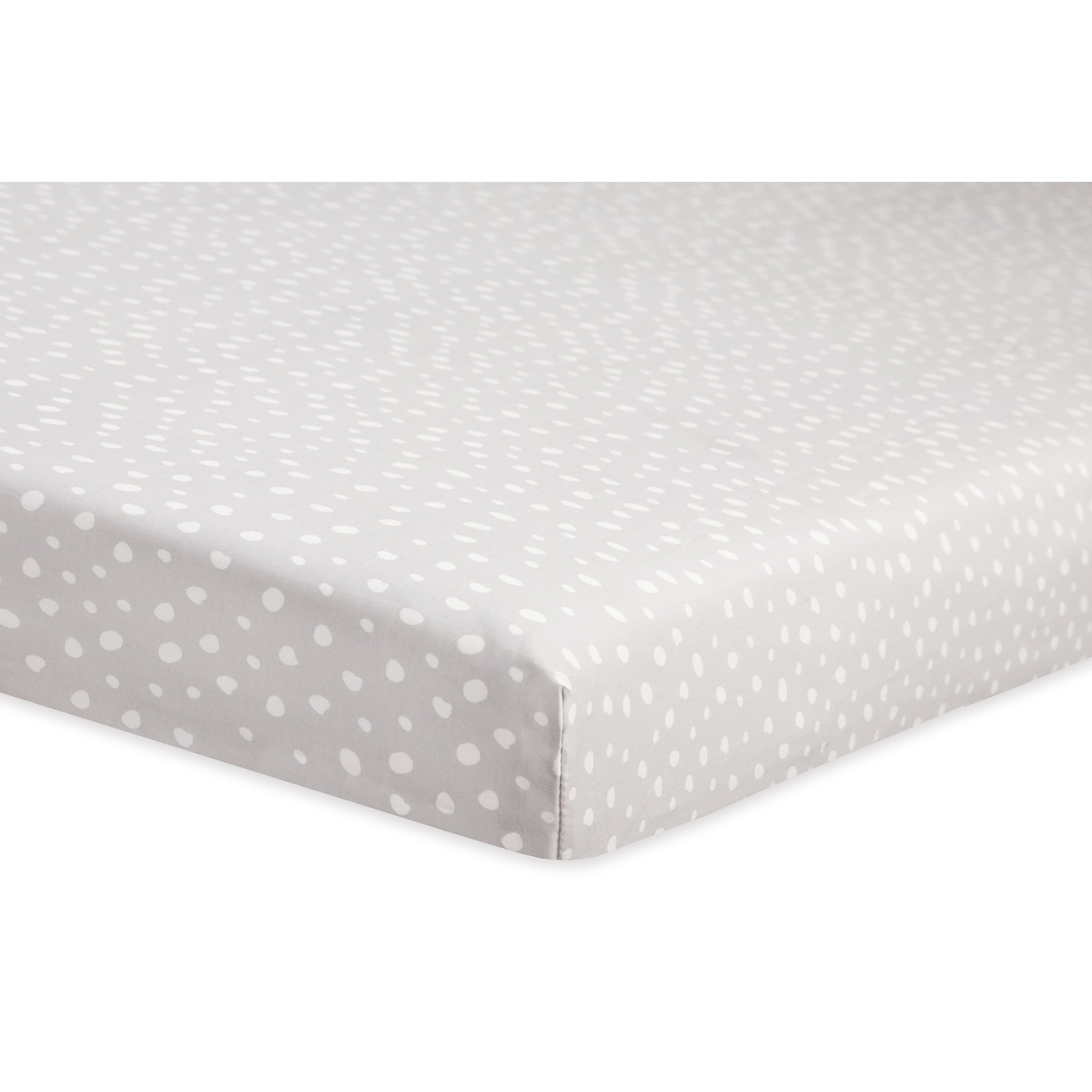 Babyletto Mini Crib Sheet, Tuxedo Dots