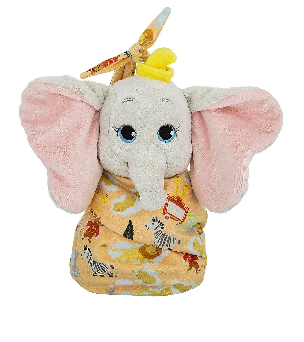 Disney Parks Baby Dumbo in a Pouch Blanket Plush Doll