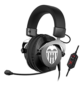Creative Labs Sound BlasterX H5 Valencia CF Edition - Auriculares de Diadema Cerrados (con micrófono