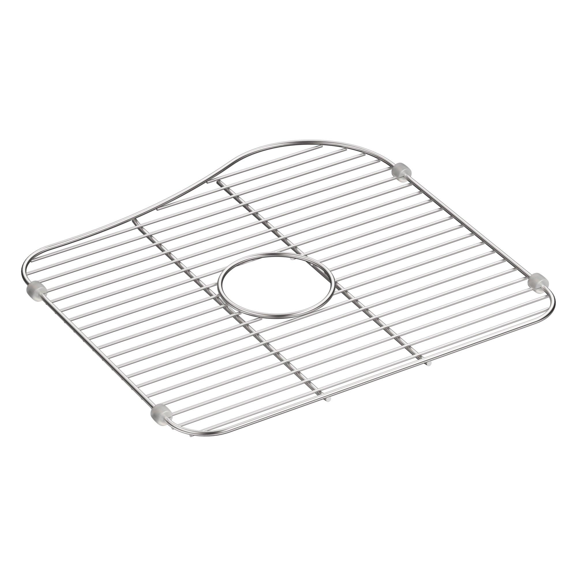 KOHLER K-5103-ST Staccato 16-5/8 x 15-7/8'' Large Sink Rack for K-3361-NA Kitchen Sink, Stainless Steel