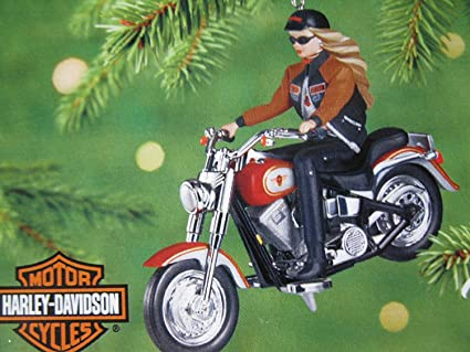 Harley-Davidson Barbie Ornament 2001 Hallmark QXI8885 - Amazon.com: Harley-Davidson Barbie Ornament 2001 Hallmark QXI8885