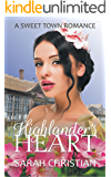 Highlander's Heart (Sweet Town Clean Historical Western Romance Book 19)