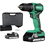 Metabo HPT Cordless 18V Driver Drill, Sub-Compact, Brushless Motor, Lithium-Ion Batteries, Lifetime Tool Warranty…