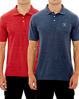 5bcff10f50d6c7 Beverly Hills Polo Club Men's Athletic Performance Sport Polo at ...