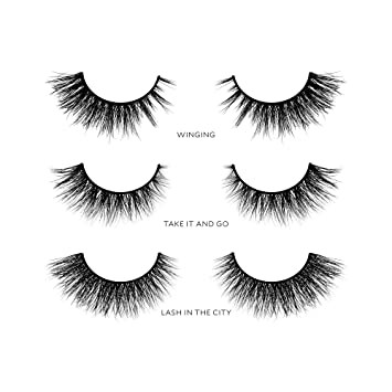 f0d98acbca2 Amazon.com : Velour Lashes - Cat Eye Collection (3 Pairs of Mink ...