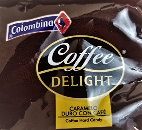 Amazon.com : Colombina Coffee Delight 100% Colombian Coffee Hard Candy (Pack of 50) : Grocery & Gourmet Food