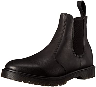 Dr. Martens Women's Black Soft Leather Beatle 40(IT)-10(US