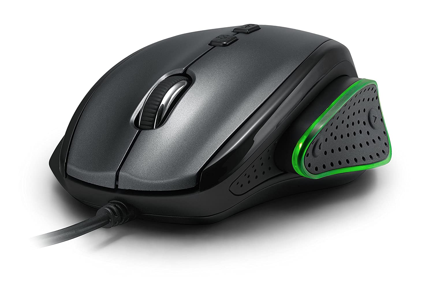 PUREX Technology 3000 DPI High Precision Wired Optical Gaming Mouse with adjustable Thumb-Rest – PXE-M535BU