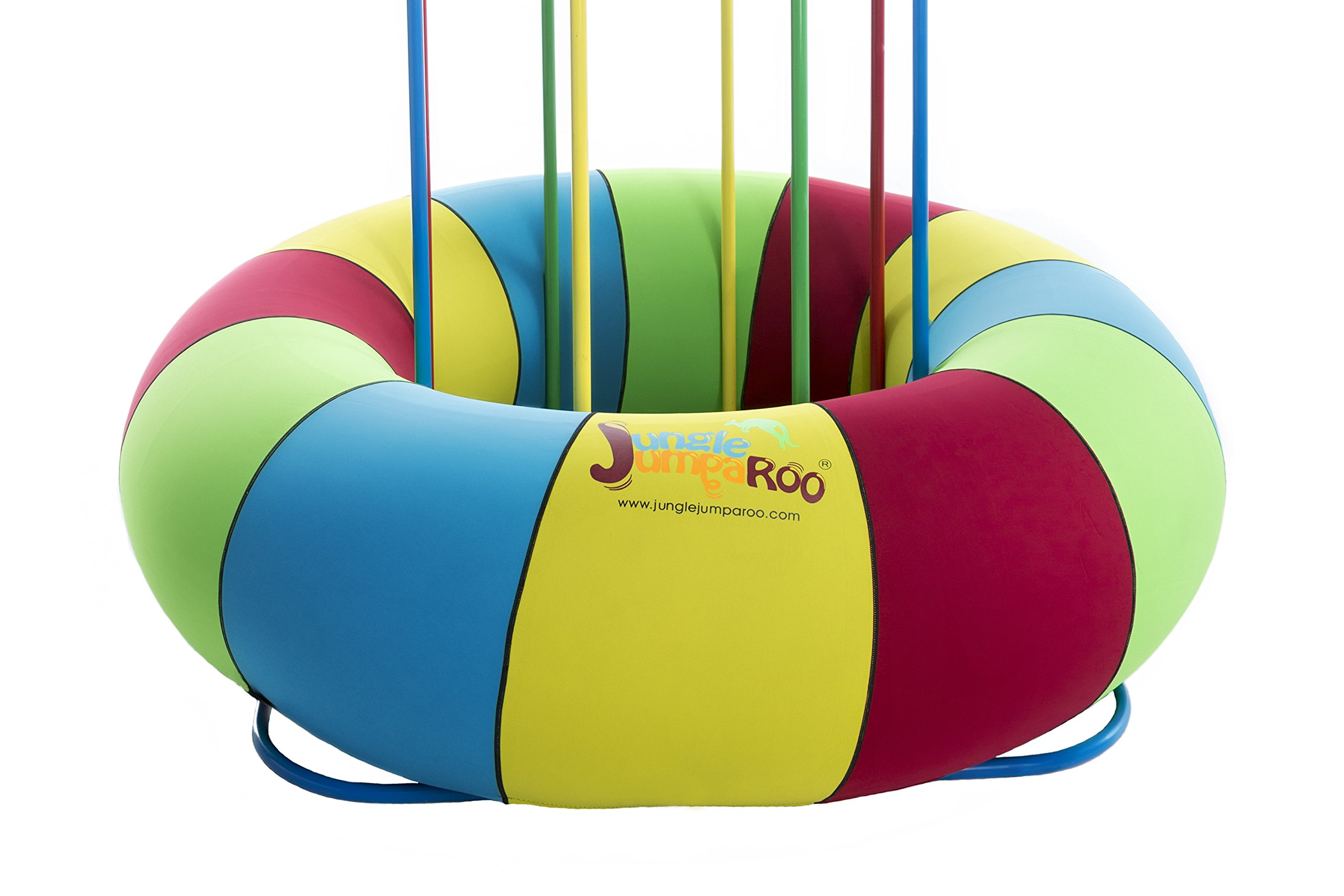 Jungle JumpaRoo Tube Cover - Protects and Adds Color - Indoor/Outdoor Jungle Gym