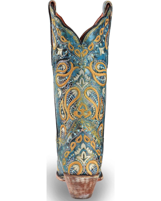 Dan Post Womens Boot B(M) Barn B078G5JS64 8.5 B(M) Boot US|Turquoise 8bbfc9