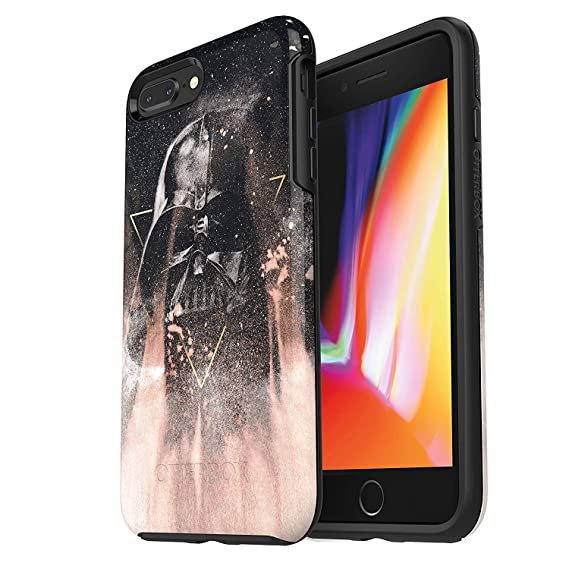 timeless design d8f87 5ea84 OtterBox Symmetry Series Star Wars Case for iPhone 8 Plus & iPhone 7 Plus  (ONLY) - Retail Packaging - Darth Vader