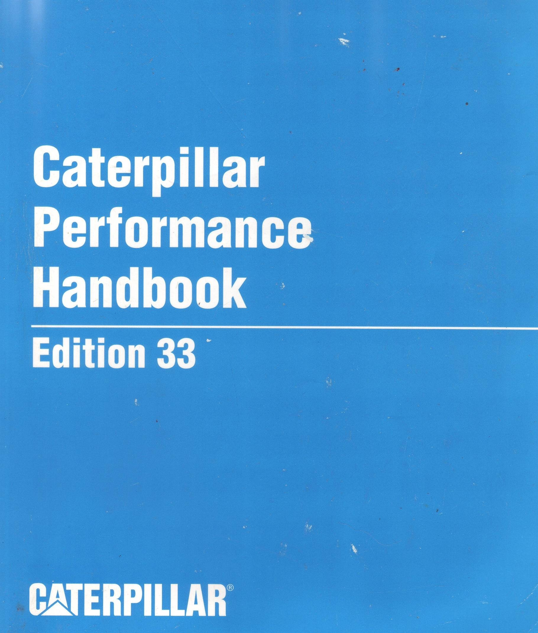 Details about  /CAT CATERPILLAR PERFORMANCE HANDBOOK 33 BOOK MANUAL 2002