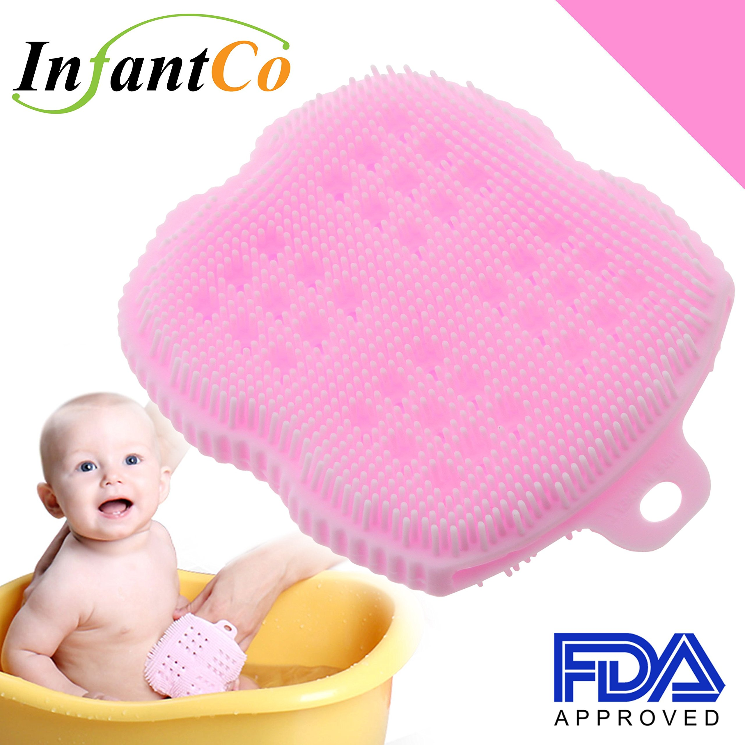 Amazon.com : InfantCo Anti-bacterial FDA-approved Ultra Soft Baby ...