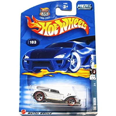 Hot Wheels Red Line Series #1 The Demon #2002-103 Collectible Collector Car Mattel 1:64 Scale: Toys & Games