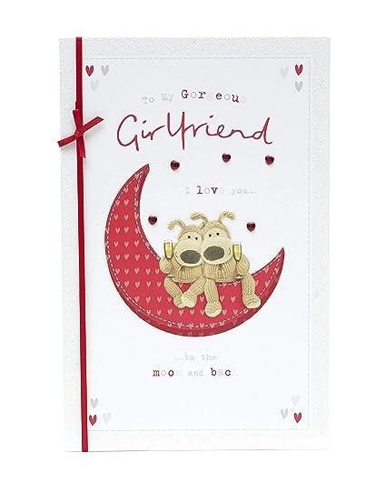 Tarjeta de cumpleaños para novia, tarjeta de Boofle para ...