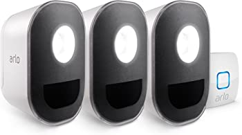 3-Pack Arlo Wireless Smart Home Security Light