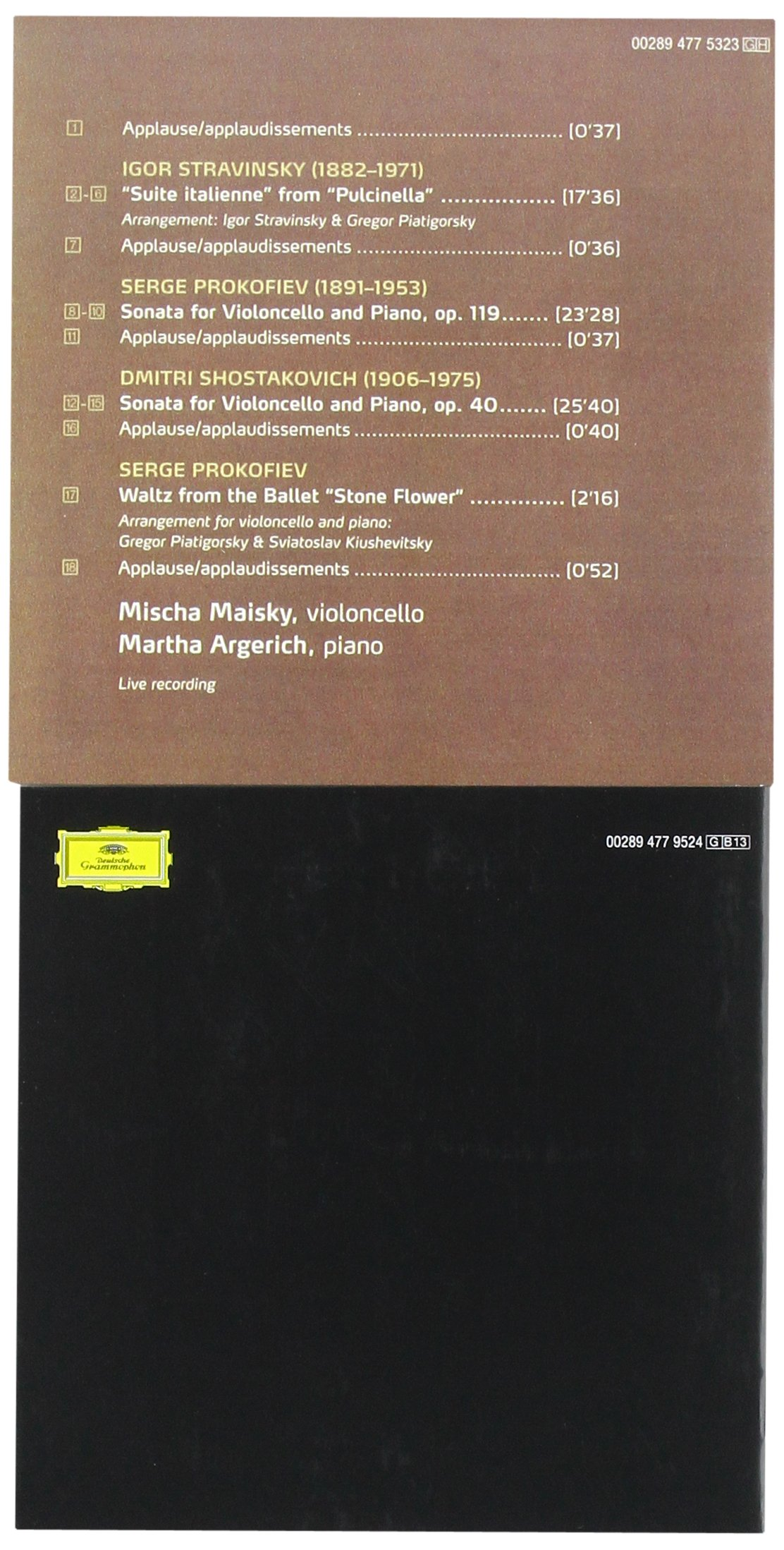 The Complete Duo Recordings [13 CD Box Set] by Deutsche Grammophon