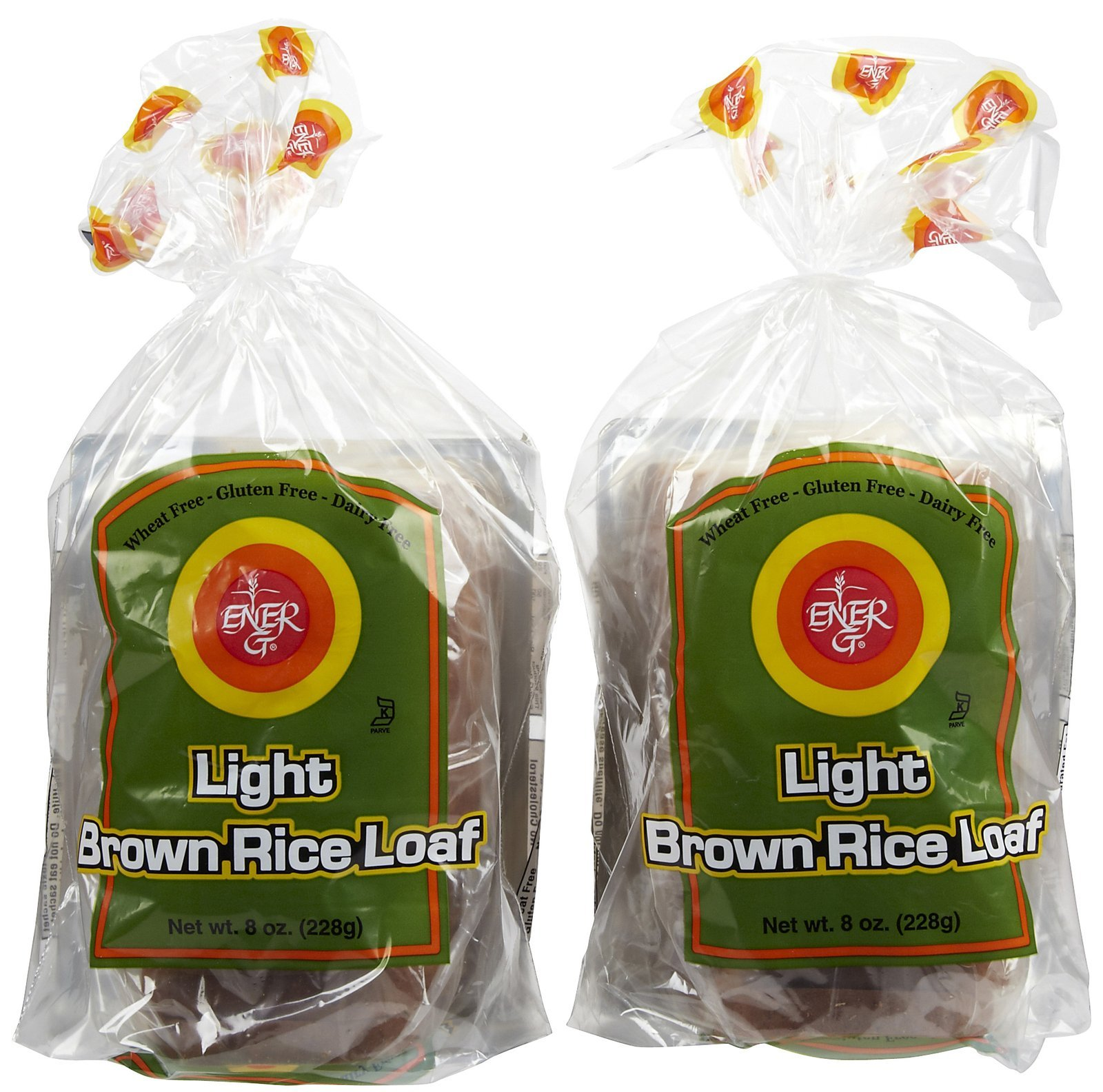 Ener-G Light Brown Rice Loaf, 8 oz, 2 pk by Ener-G Foods