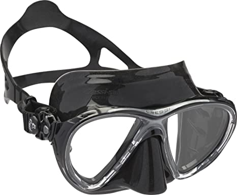 Cressi Big Eyes Evolution - Gafas de buceo unisex, color negro
