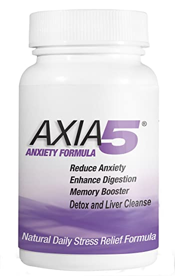 Natural Anxiety and Stress Relief Provides Liver Detox, Constipation  Relief, Axia5 Detox Body Flush,