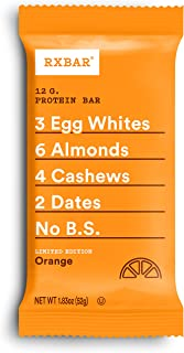 product image for RXBAR Orange, High Protein Snack, 1.83 Oz, Pack Of 12, 1.83 Oz