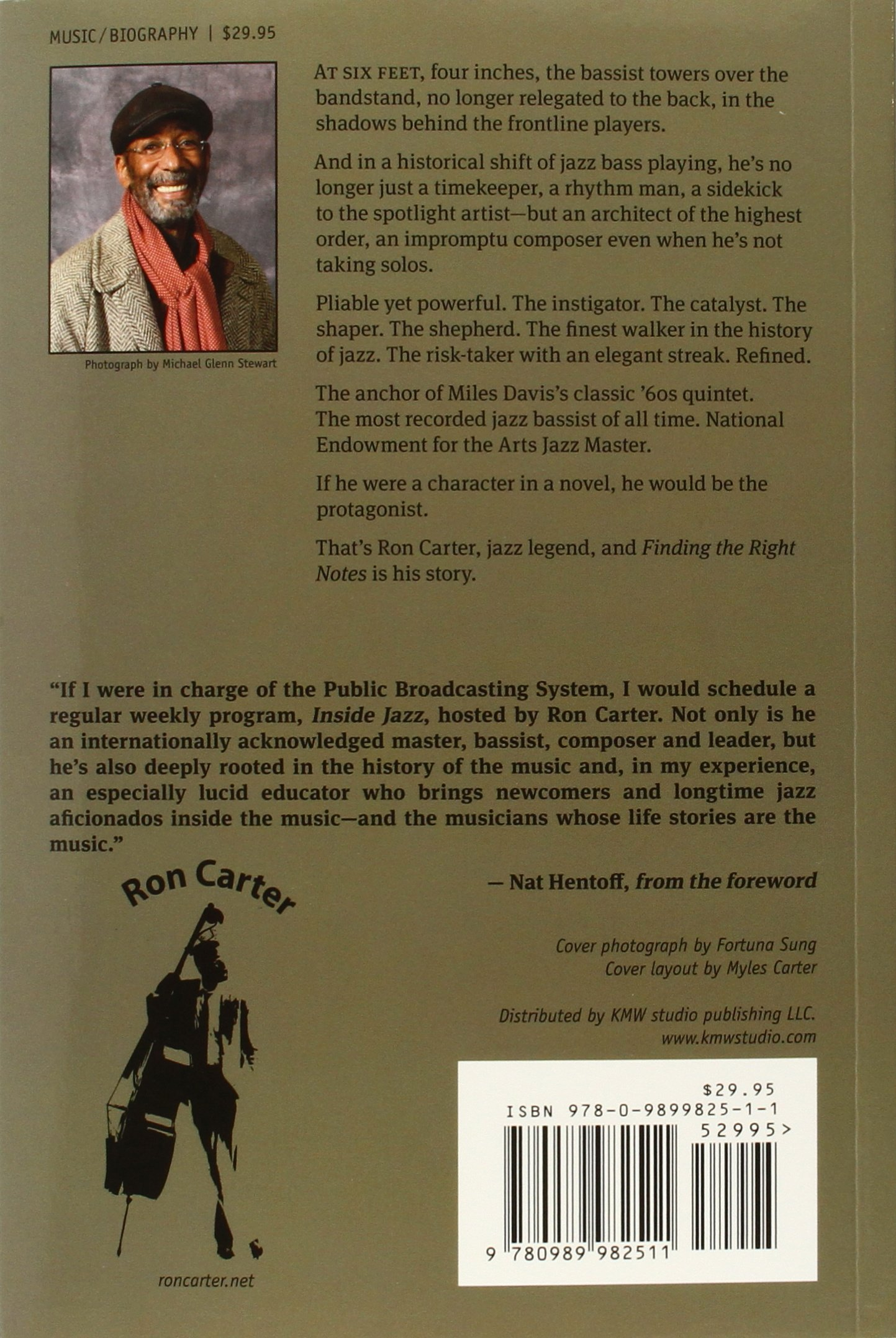 Ron Carter: Finding The Right Notes: Dan Ouellette: 9780989982511:  Amazon: Books