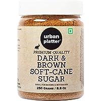 Urban Platter Dark Soft Brown Cane Sugar, 400g [Rich in Taste, Muscovado Sugar]