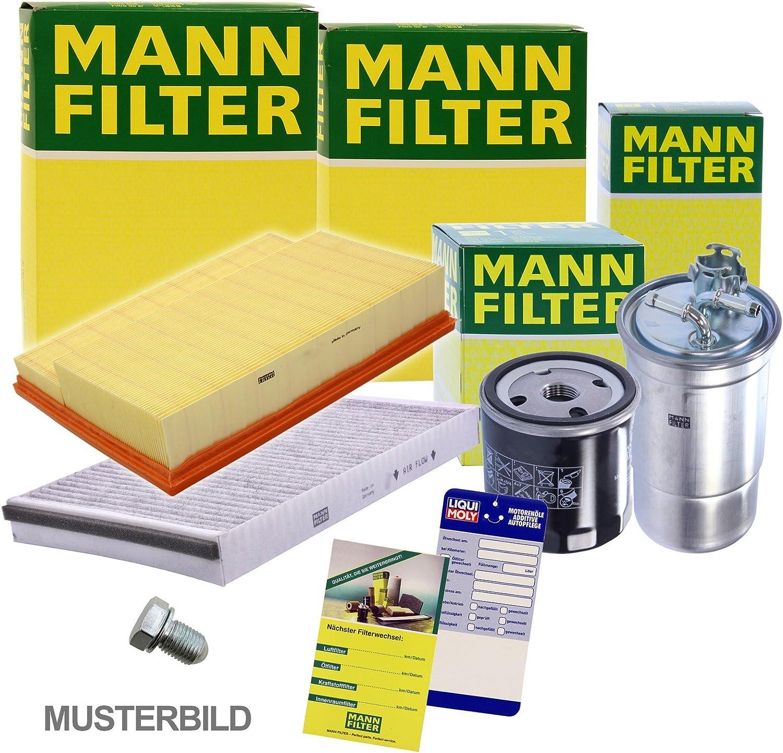 1x MANN-FILTER Inspektionspaket Filtersatz SET B