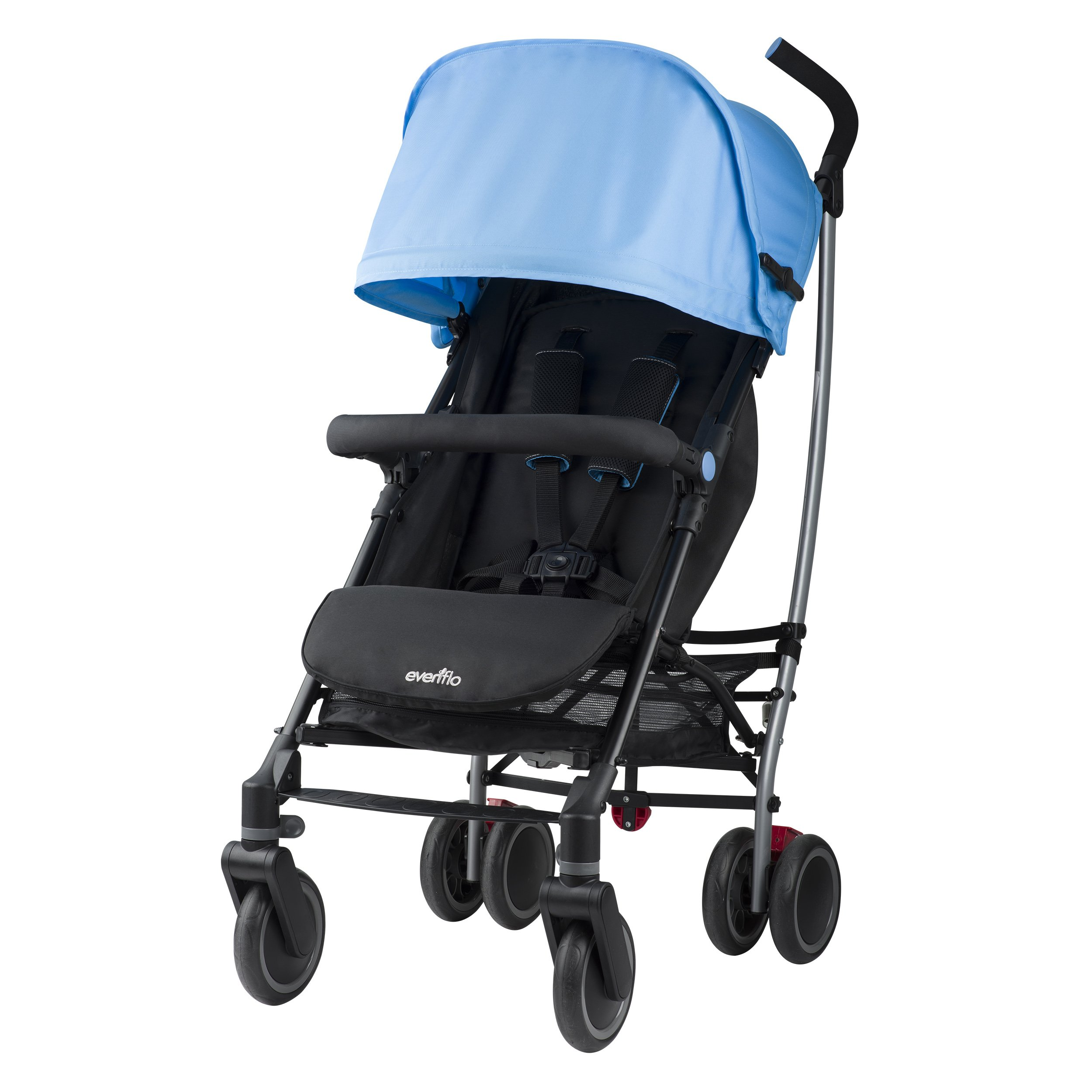 Evenflo Cambridge Stroller, Sky Blue by Evenflo (Image #3)