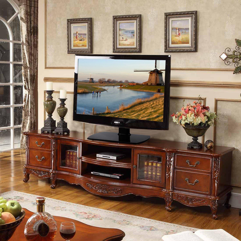 RFIVER Supporto TV Tavolo Piedistallo TV Base Universale TV Staffa con Altezza Regolabile e Girevole per Televisori da 27 a 55 pollici Nero UT2002