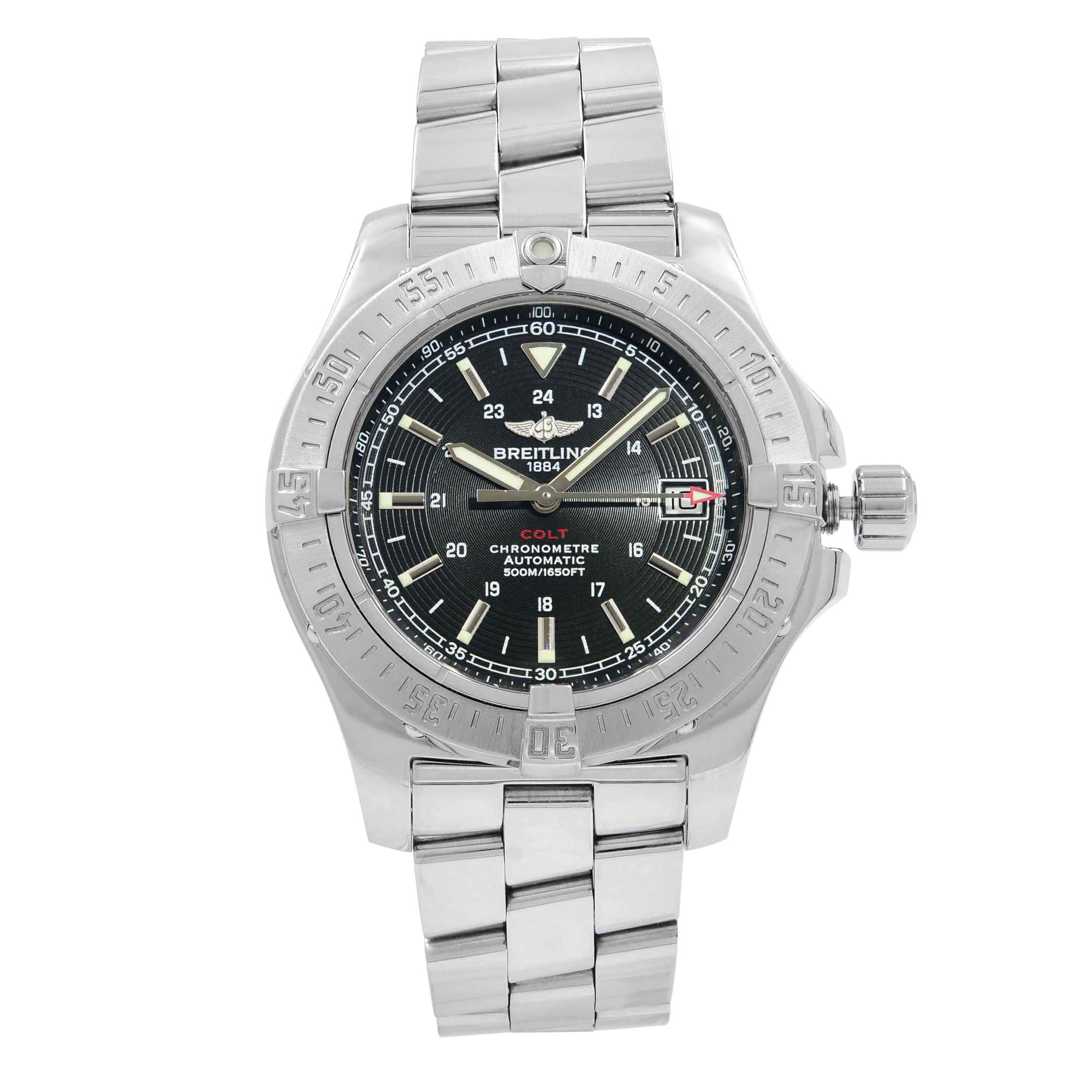 Breitling Colt Automatic-self-Wind Male Watch A17380 (Certified Pre-Owned)