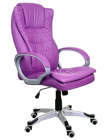 Modern Sessel Bürosessel Chefsessel Bürostuhl Drehstuhl Bürodrehstuhl  PU-Leder