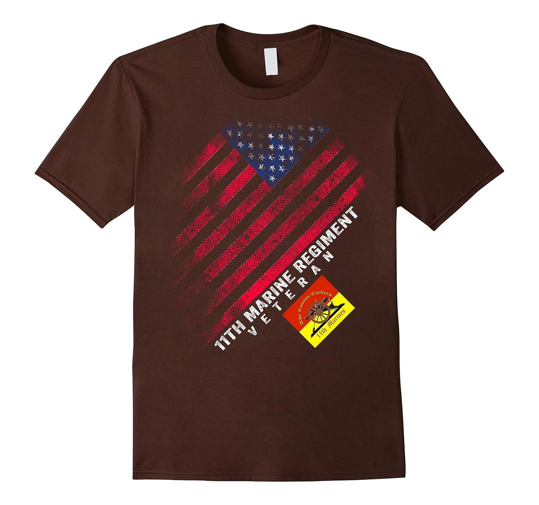11th Marine Regiment Veteran Vintage T-Shirt