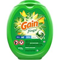 Deals on 96-Ct Gain Flings Liquid Laundry Detergent Pacs Original