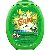 Gain flings! Laundry Detergent Soap Pacs, High Efficiency (HE), Original Scent, 96 Count