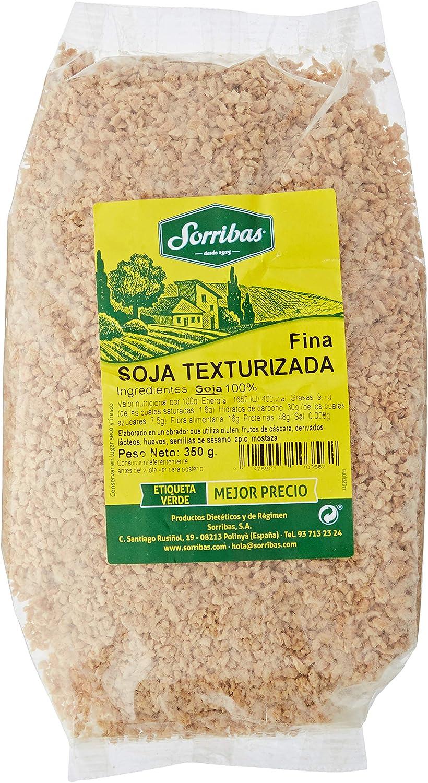 Sorribas Soja Texturizada Fina - Bolsa 350 g
